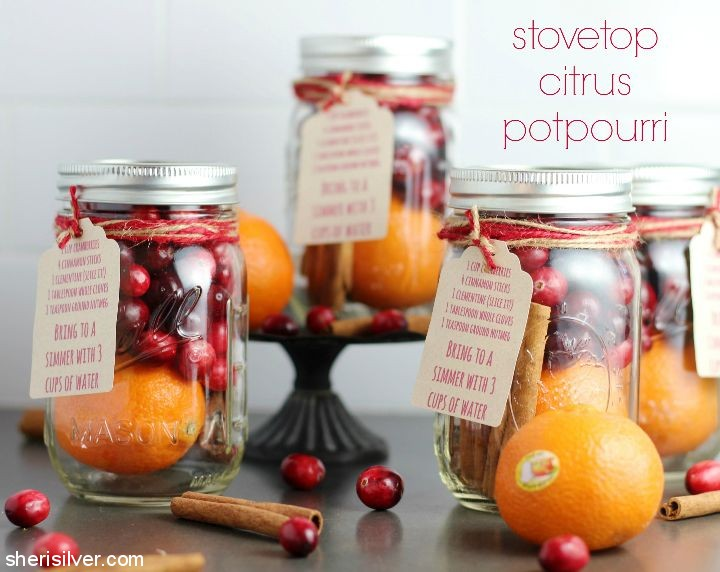 Toss this stovetop potpourri in some boiling water and enjoy the refreshing citrus scents fill your home