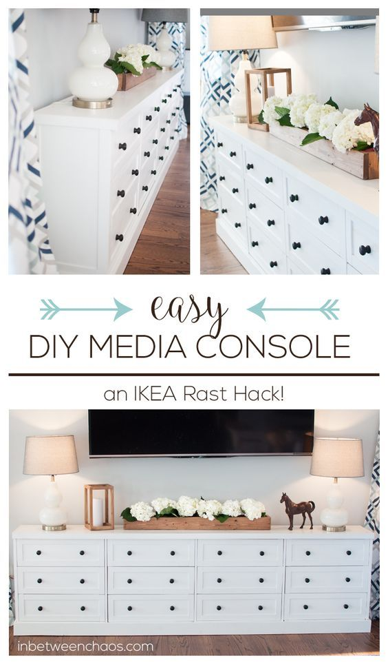 13 Ikea Hacks You Haven't Seen Yet; unique and amazing ways to transform your Ikea purchases into fabulous home decor. || Rast Hack - Nikki's Plate www.nikkisplate.com