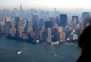 Reisebericht New York City. Rundflug im Helikopter. Foto: www.nikkiundmichi.de