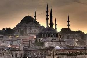 Moscheen in Istanbul. Foto: Michael Dunker