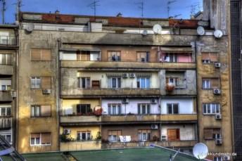 Belgrad Wohnblock