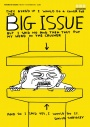 David Shrigley's cover for the BIg Issue
