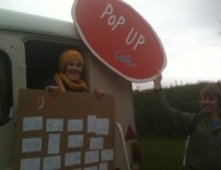 Pop Up Cafe n Brungerley Park