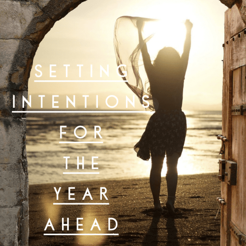 Intentions and goal setting for the year ahead - Nikki Young
