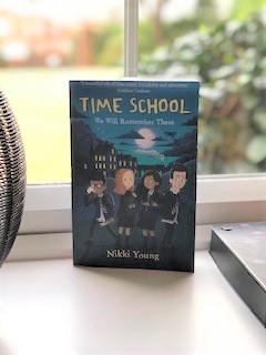Time School: We Will Remember Them by Nikki Young is due out on World Book Day 2020.