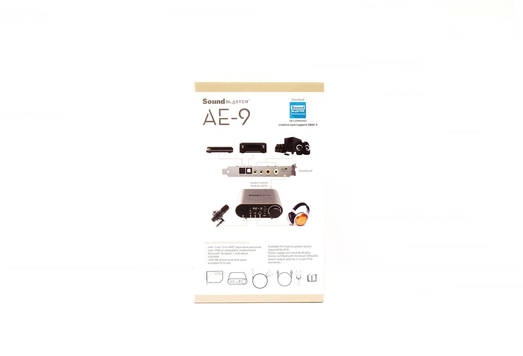 Creative Sound Blaster Ae 9 Hi Res Pcie Sound Card Review