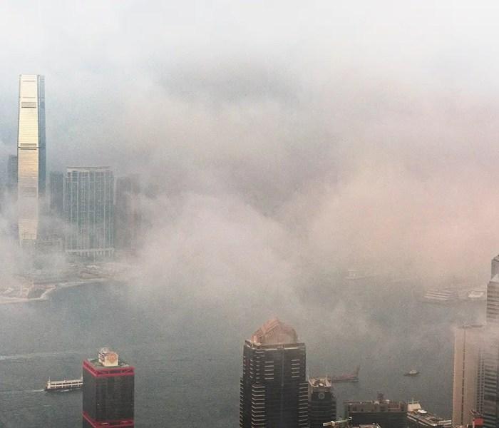 Hong Kong Skyline Cloud Kowloon