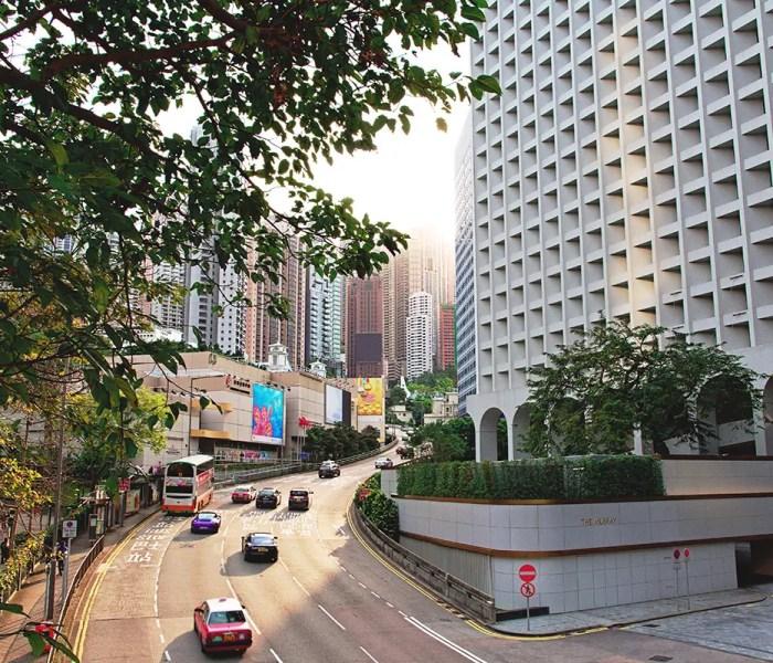Golden Hour Central Hong Kong