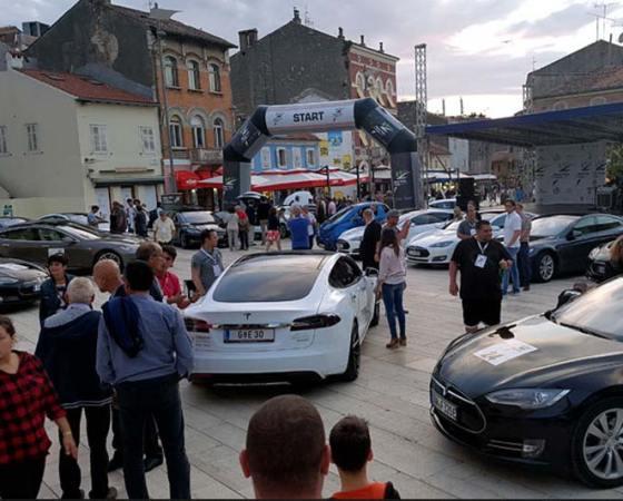 Nikola Tesla EV Rally 2016, Croatia