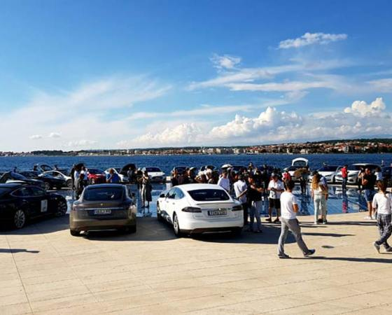 Nikola Tesla EV Rally 2016, Croatia – 2 – The Greeting to the Sun