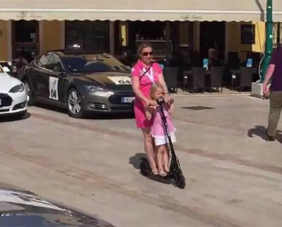 Nikola Tesla EV Rally 2017 Mali Lošinj Riva