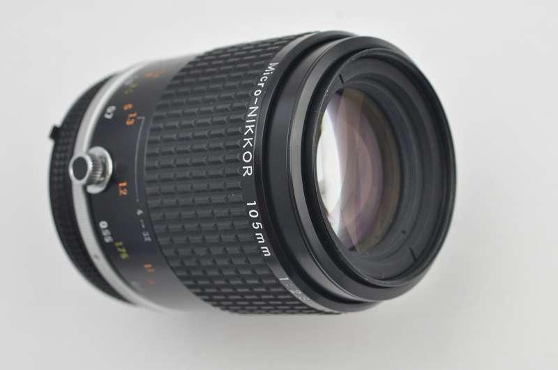 Nikon Mirco Nikkor 105mm 2.8 AIS CRC Mechanik - höchste Bildqualität