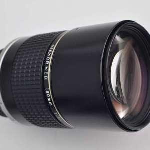 Nikon 180mm ED 2.8 AIS manuelles super scharfes Objektiv