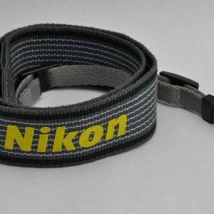 Nikon Schulterriemen Grau-Gelb