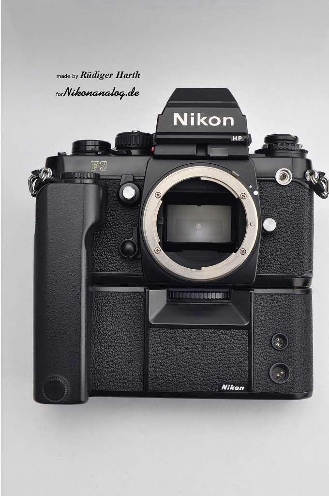 Nikon F3HP mit Motor MD-4