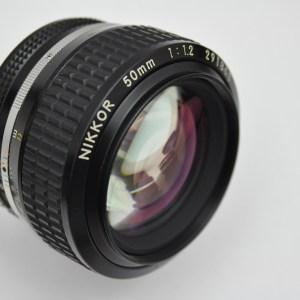 Nikon Nikkor 50mm 1.2 AIS wunderbares Bokeh bei Blende 1.2