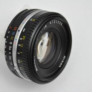 Nikon Pancake 50mm 1.8 AIS - keine Vignettierung