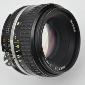 Nikon Nikkor 50mm 1.8 - AIS - TOP - hervorragende Bildqualität