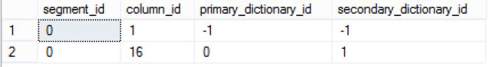 Assigned Dictionaries to SalesKey & SalesAmount columns
