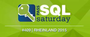 SQLSaturday Rheinland 409