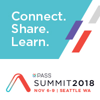 Speaking at PASS Summit 2018