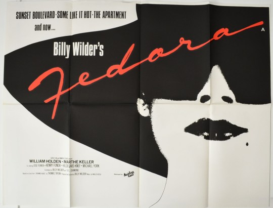 Fedora : Cinema Quad Poster