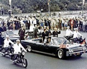 Βερολίνο, ο πρόεδρος των ΗΠΑ, John Kennedy