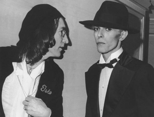 Lennon, Bowie