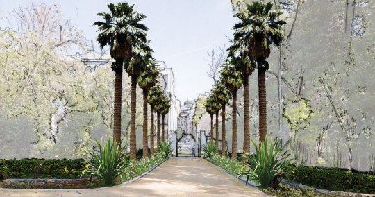 Εθνικός κήπος Αθηνών , ανάπλαση