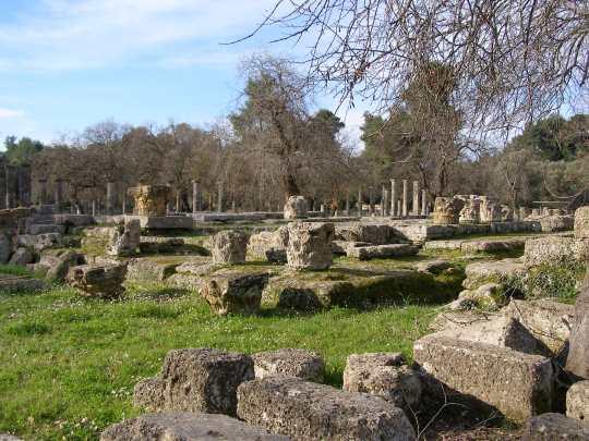 OLYMPIA, STADIUM, Αρχαία Ολυμπία, ΑΡΧΑΙΟΛΟΓΙΚΟΣ ΧΩΡΟΣ, ΤΟ ΣΤΑΔΙΟ, nikosonline.gr