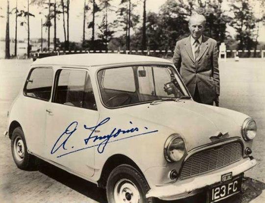 Sir Alec Issigonis Μινι Κούπερ