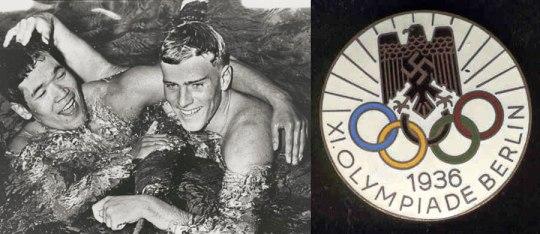 1936 Βερολίνο Nazi Ολυμπιακοί εγώνες