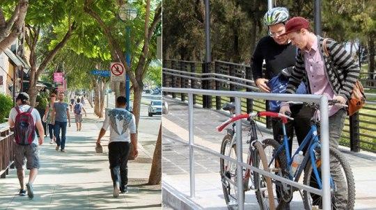 Ποδήλατο, περπάτημα, υγεία, ψυχολογική κατάσταση,