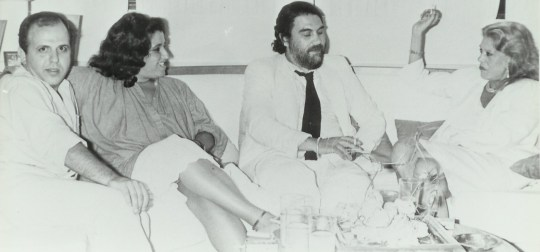 Νίκος Μουρατίδης, Vangelis, Melina Mercouri