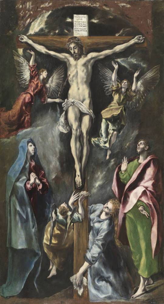 3_El Greco, The Crucifixion.