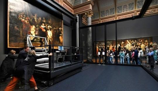 Rembrandt, Night watch, Μουσείο Rijksmuseum, Museum of the year, Amsterdam, Άμστερνταμ, Ολλανδία, Ανακαίνιση, Ευρωπαϊκό Μουσείο της Χρονιάς 2015, ΤΟ BLOG ΤΟΥ ΝΙΚΟΥ ΜΟΥΡΑΤΙΔΗ, nikosonline.gr,