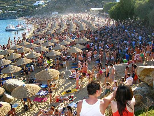 SUMMER, BEACHES, PARALIES, CROWD, nikosonline.gr