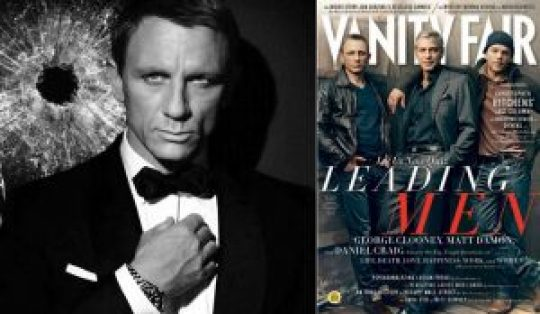Ο Daniel πίσω από τον Bond