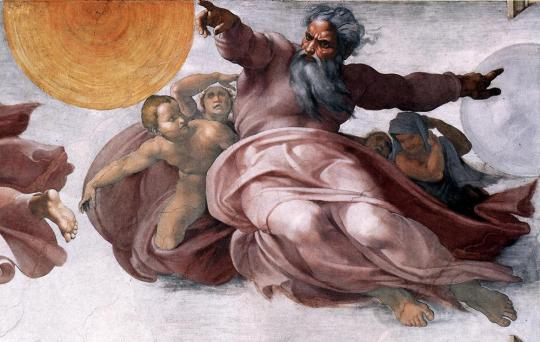 creation-of-the-sun-moon-and-earth-michelangelo
