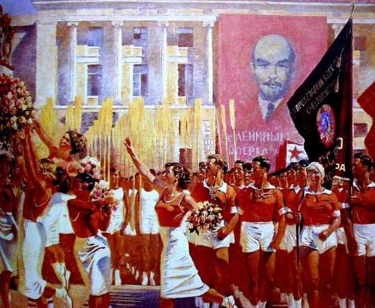 Isaak Izrailevich Brodsky, Ρωσία 1917, Ρώσικη επανάσταση, Τέχνη, Ζωγραφική, Ρώσικη Πρωτοπορεία