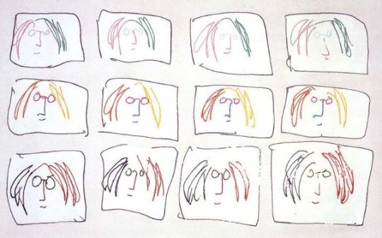 John_Lennon_Multiple_Self_Portrait__1968