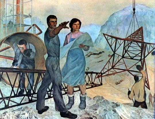 socialist-realism, Ρωσία 1917, Ρώσικη επανάσταση, Τέχνη, Ζωγραφική, Ρώσικη Πρωτοπορεία