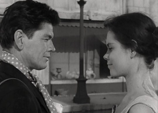 Charles Bronson & Elizabeth Montgomery TWO 1961
