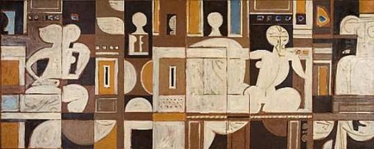moralis composition, Γιάννης Μόραλης, ζωγράφος, Yiannis Moralis
