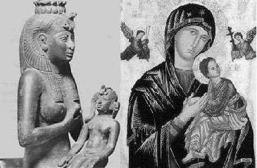 Isis-and-Virgin-Mary