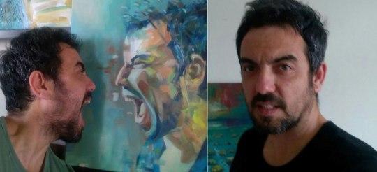Τάσος Μπουσδούκος, ζωγράφος