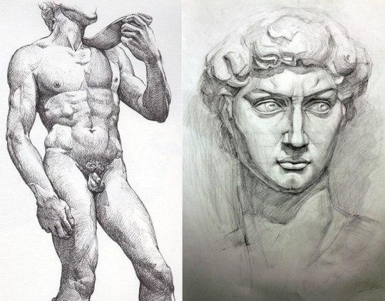 Μιχαήλ-Άγγελος, Δαβίδ