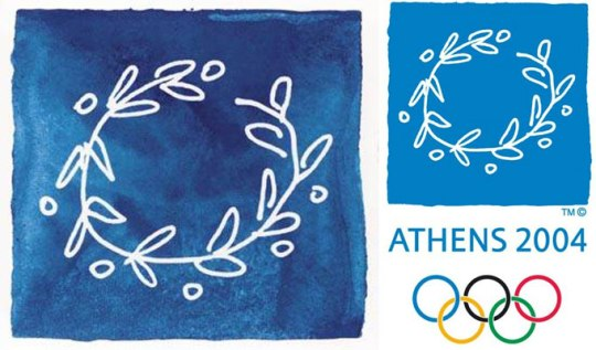 athens-2004, σήμα Ολυμπιακών αγώνων