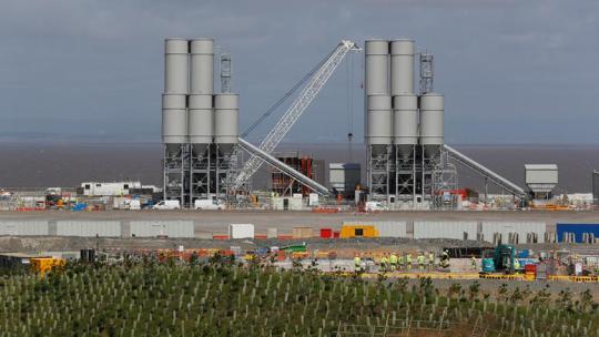 Αγγλία, Πυρηνικό εργοστασιο
