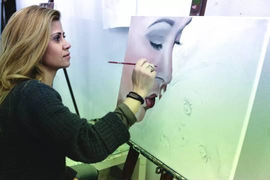 Μαρίνα Γιάννου Ερωτοκρίτου, Ζωγραφική, εικαστικά,